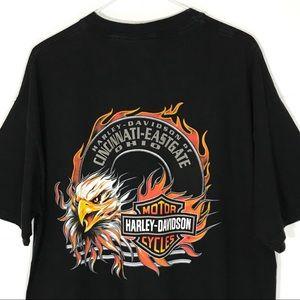 Harley Davidson T-Shirt Mens Xl Cincinnati Ohio